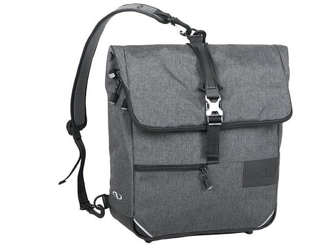 Norco Portree City-Tasche mit Rucksackfunktion tweed grau
